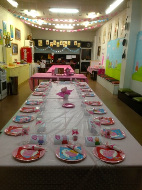 pepa pig themed party